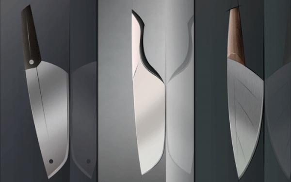 Оригинальные ножи для кухни - Фото 35