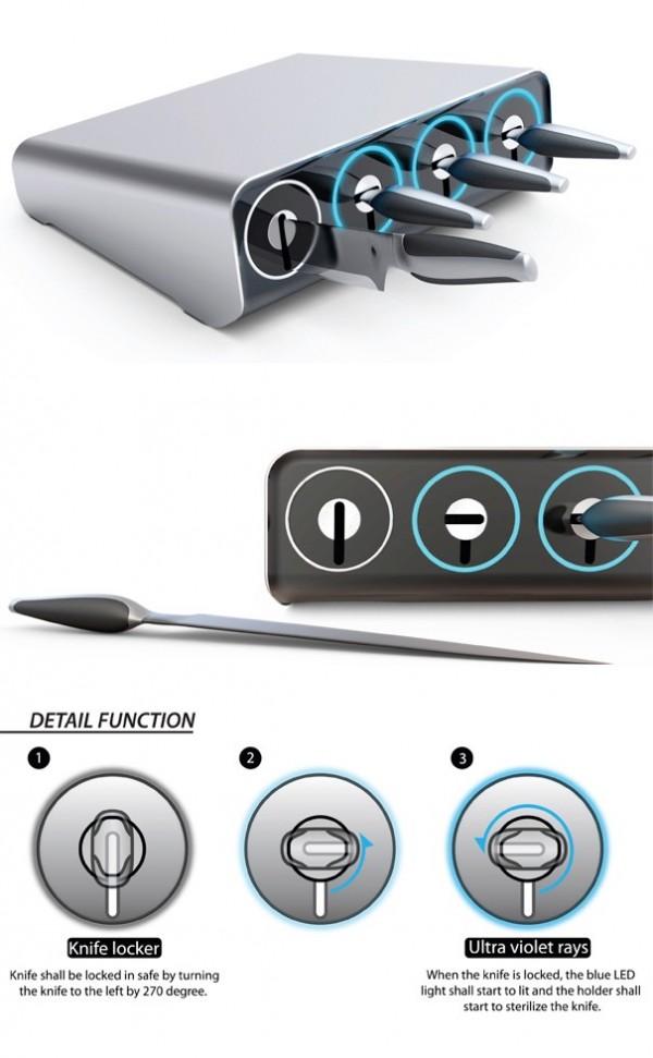 Оригинальные ножи для кухни - Фото 37