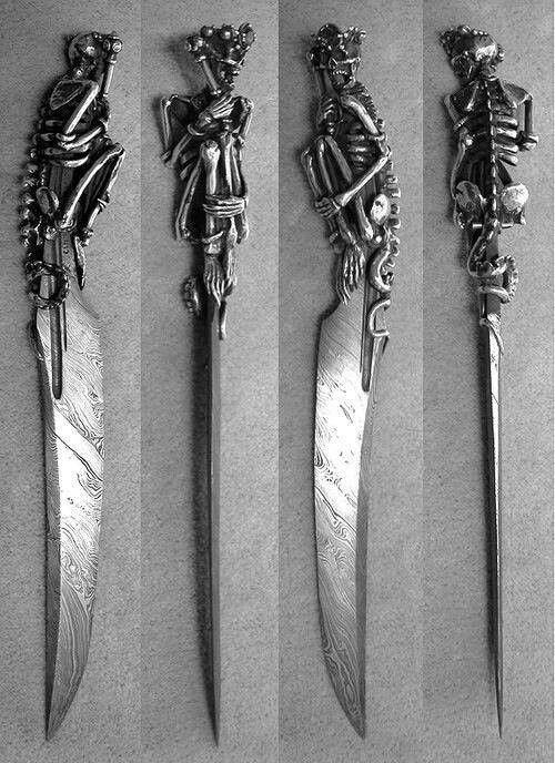Оригинальные ножи для кухни - Фото 41