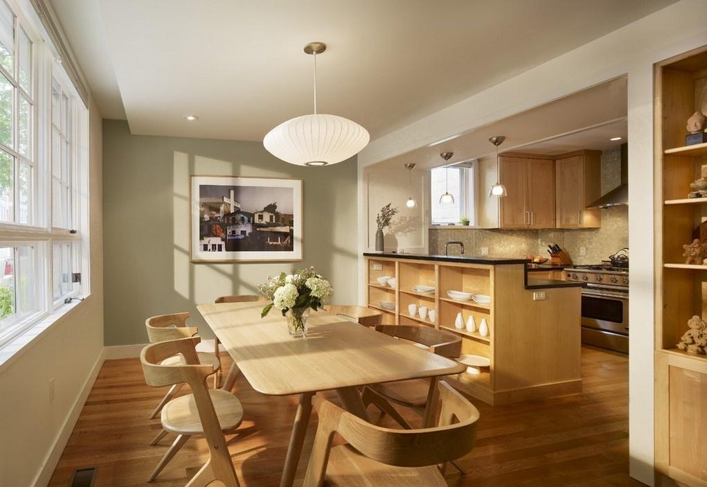 Stühle mit Rücken in der Küche schöne Fotos