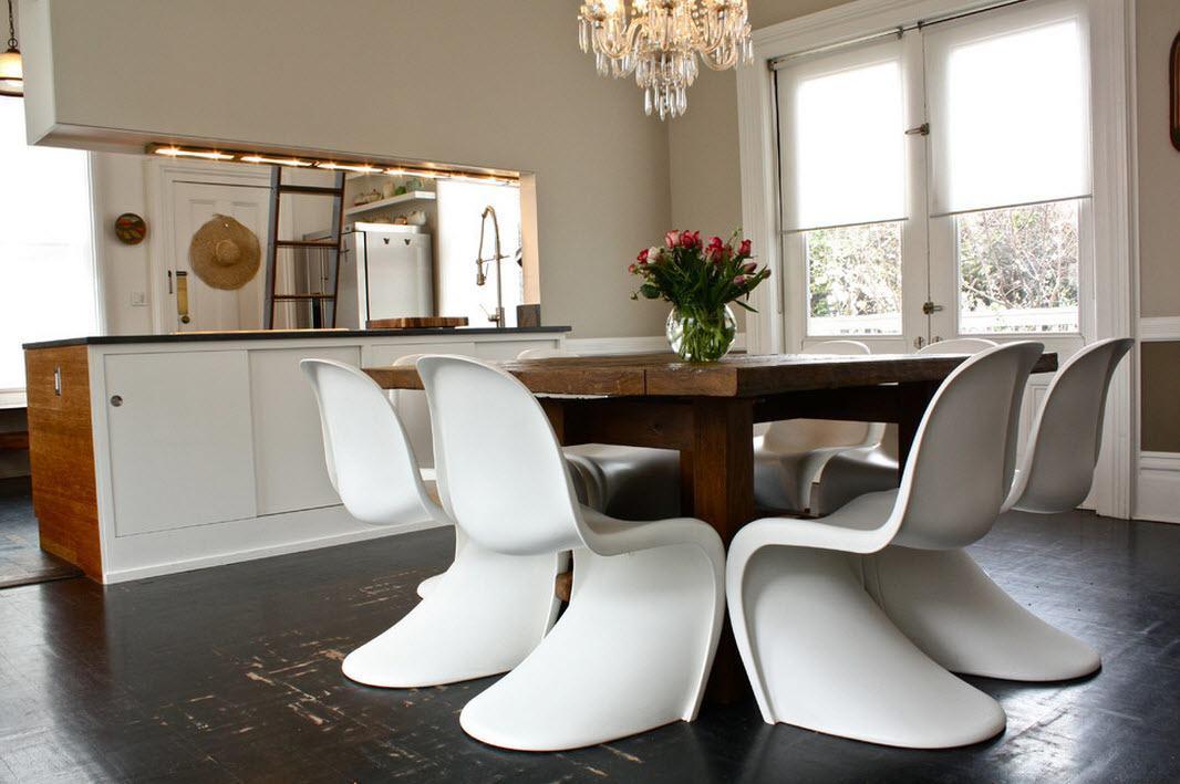 Оригинальные стулья для кухни - фото 29