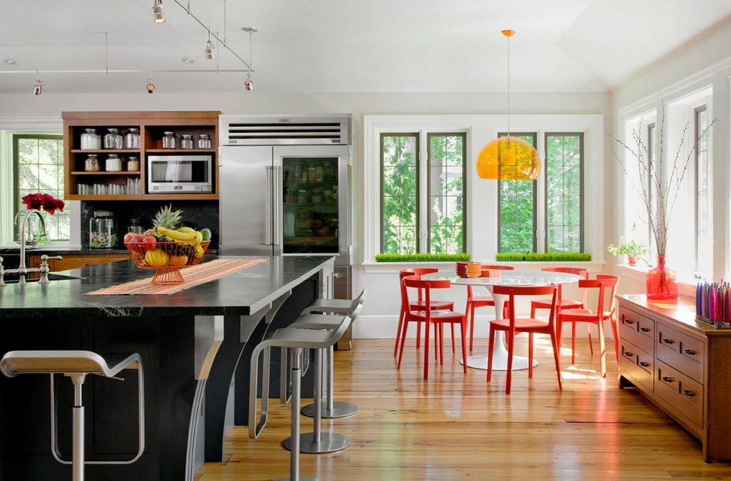 Оригинальные стулья для кухни - фото 37