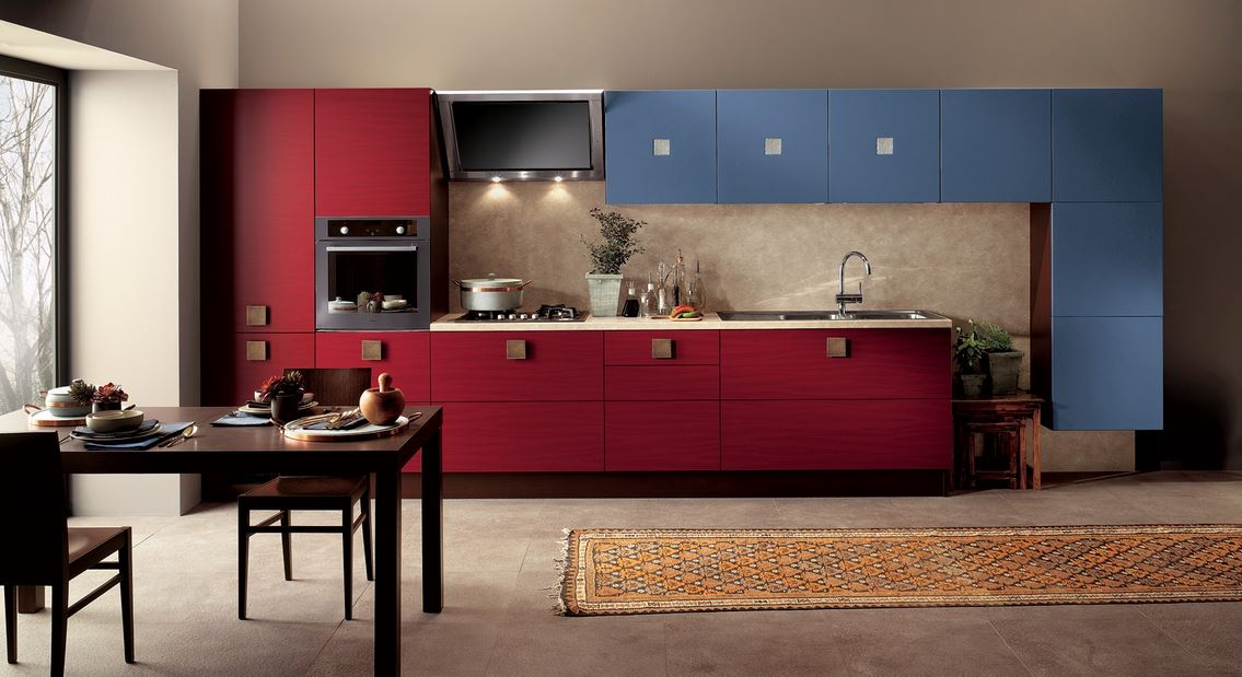 Кухни прямые дизайн 2016