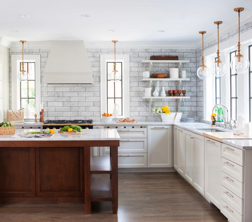 плитка на кухне до потолка фото