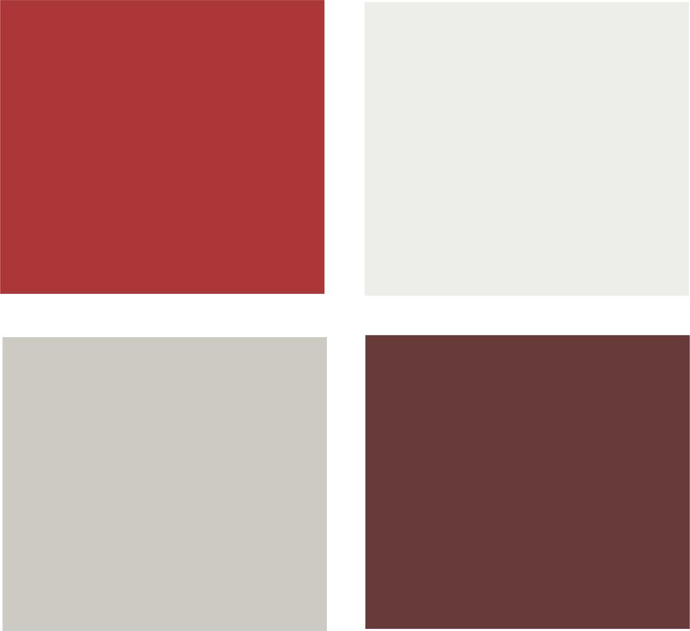 Палитра идеального сочетания красных элементов