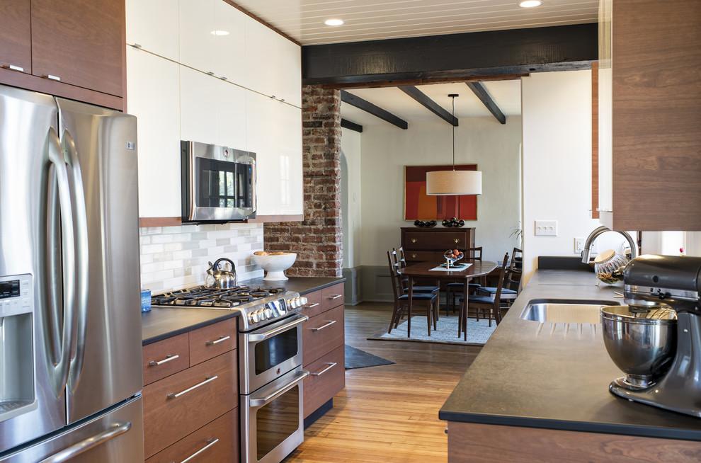 Дизайн интерьера кухни от Emily Fisher в США