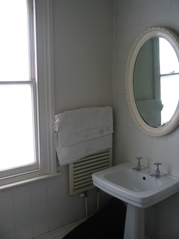 Планировка ванной комнаты до реконструкции
