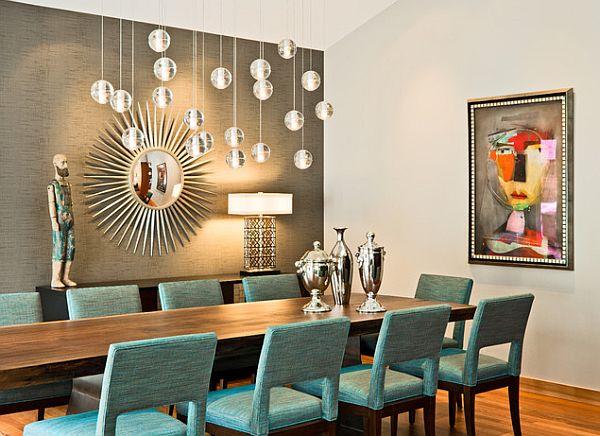 Столовые аксессуары в современоой гостинной
