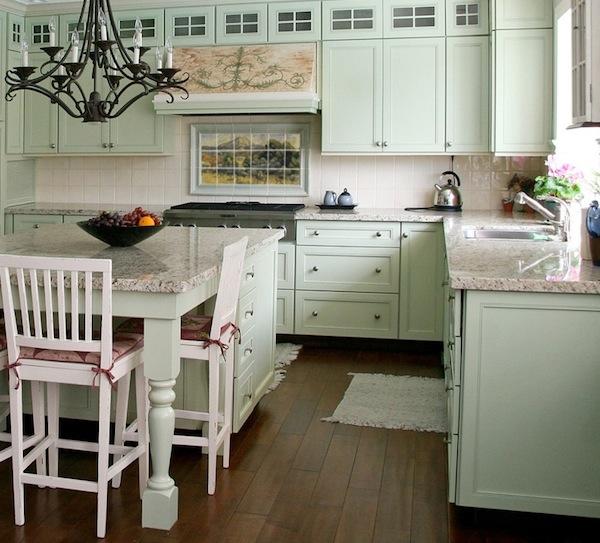 Оригинальный дизайн кухонного фартука