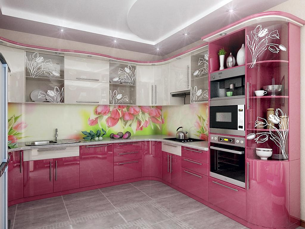 Кухни модные