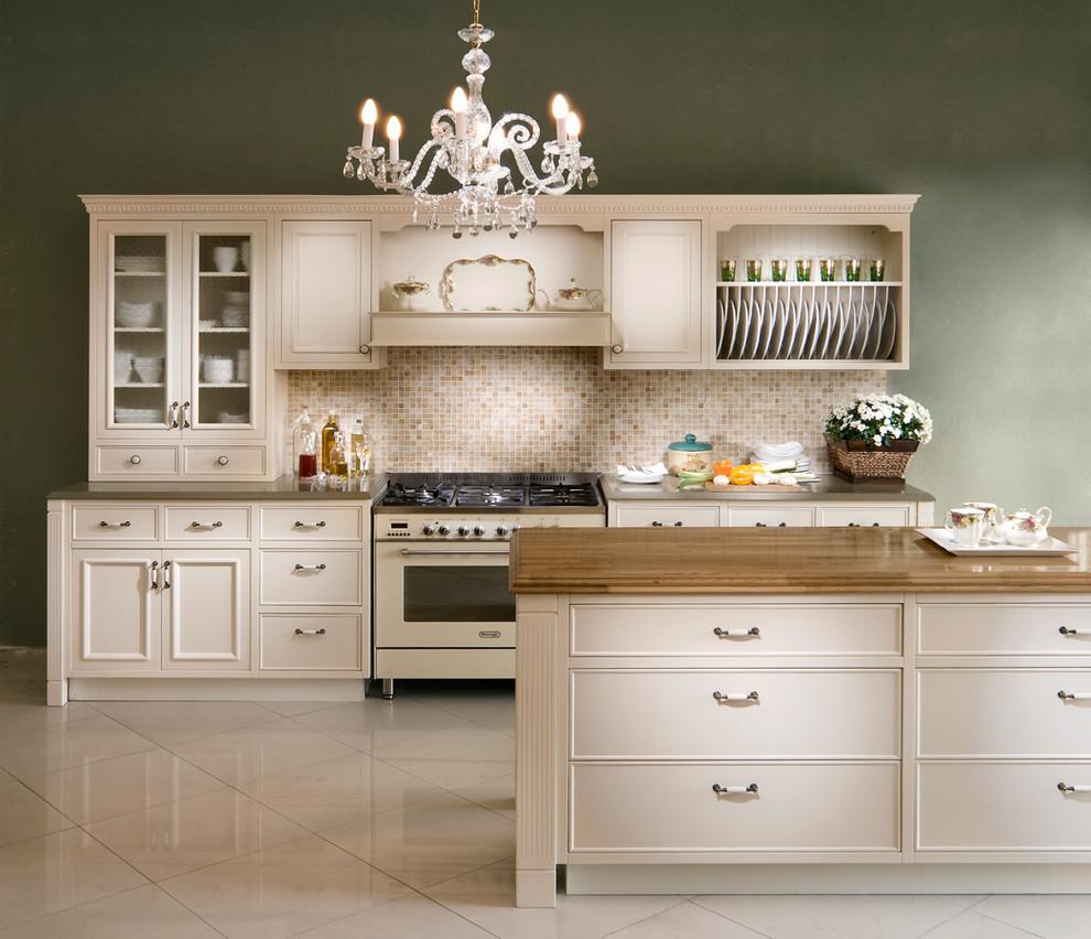 Дизайн-идея расположения сушилки для тарелок в интерьере кухни от Elad Gonen
