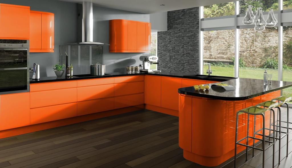 Подбор цвета для кухни в современном стиле