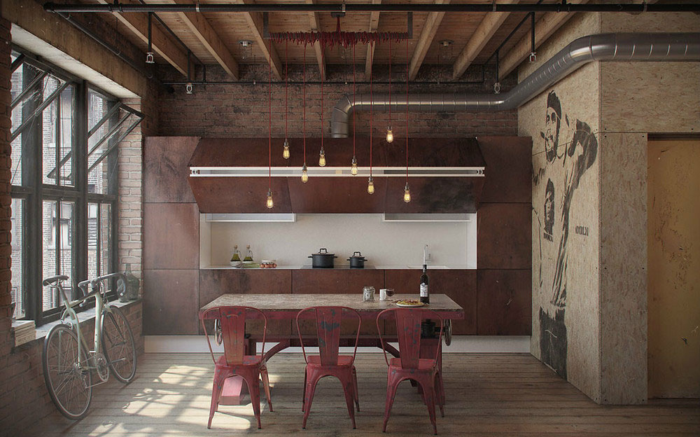 Подвесные светильники для кухни - Фото 18