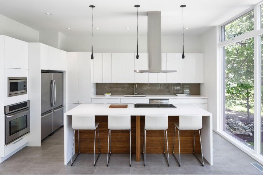 Подвесные светильники для кухни - Фото 23
