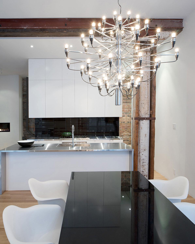 Подвесные светильники для кухни - Фото 25