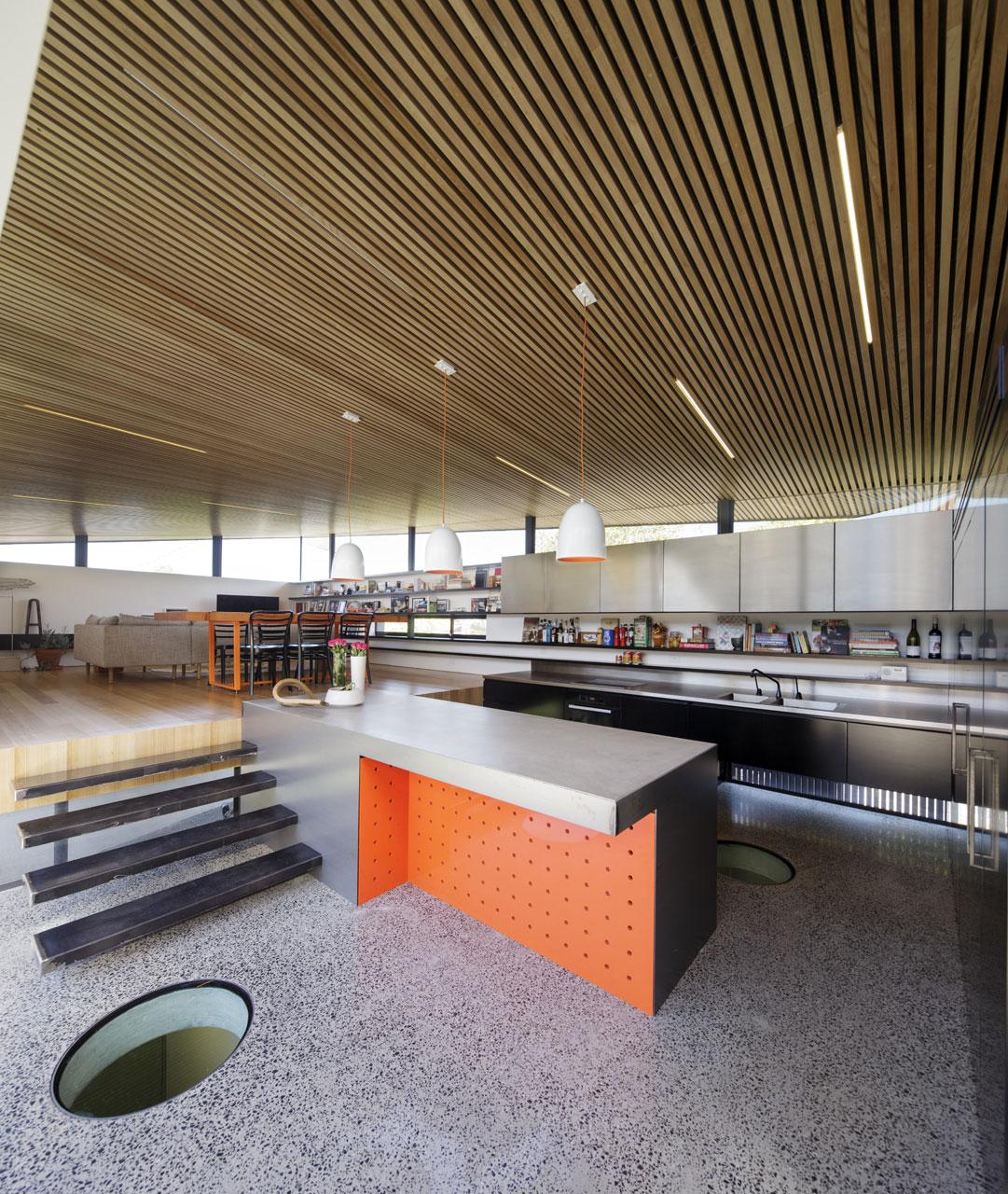 Подвесные светильники для кухни - Фото 29