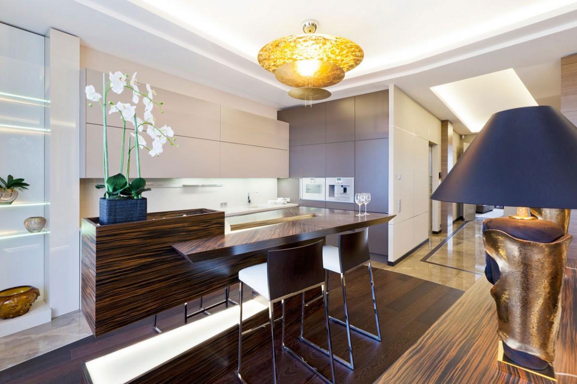 Подвесные светильники для кухни - Фото 31