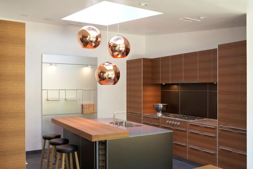 Подвесные светильники для кухни - Фото 32