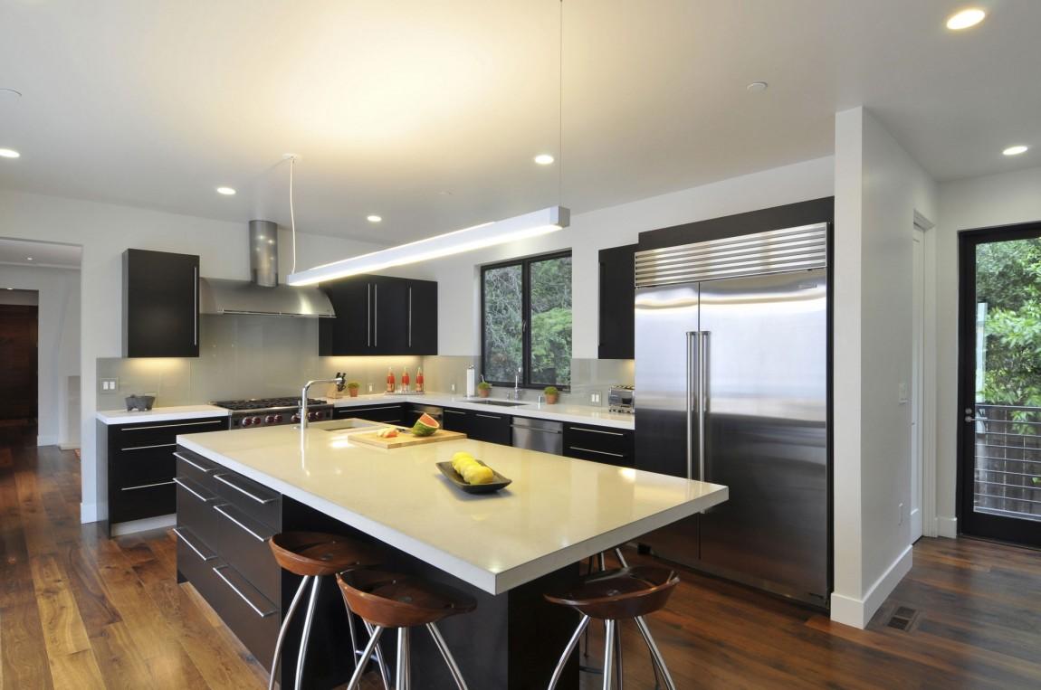 Подвесные светильники для кухни - Фото 39