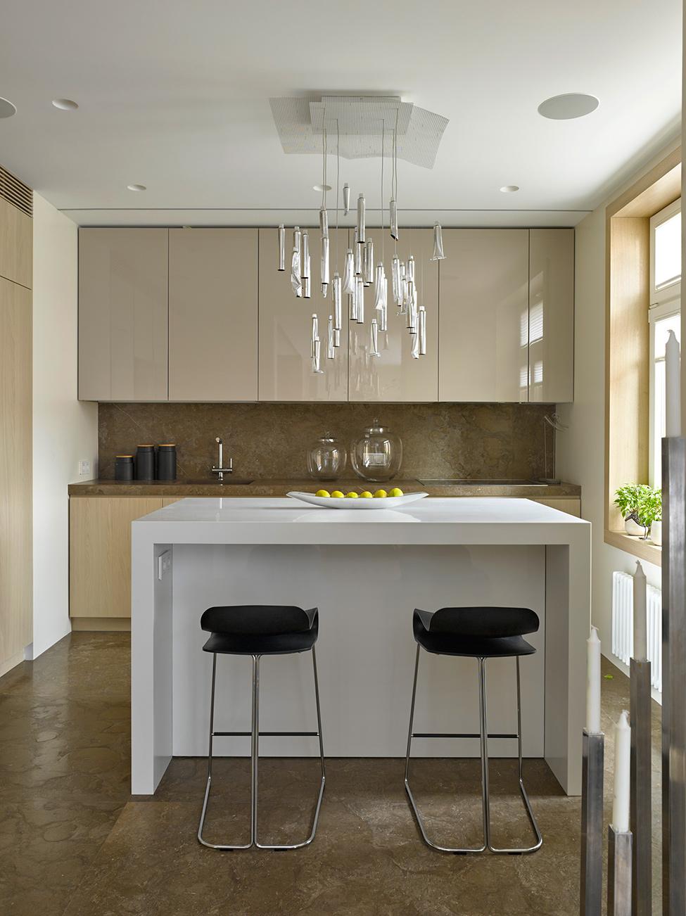 Подвесные светильники для кухни - Фото 43