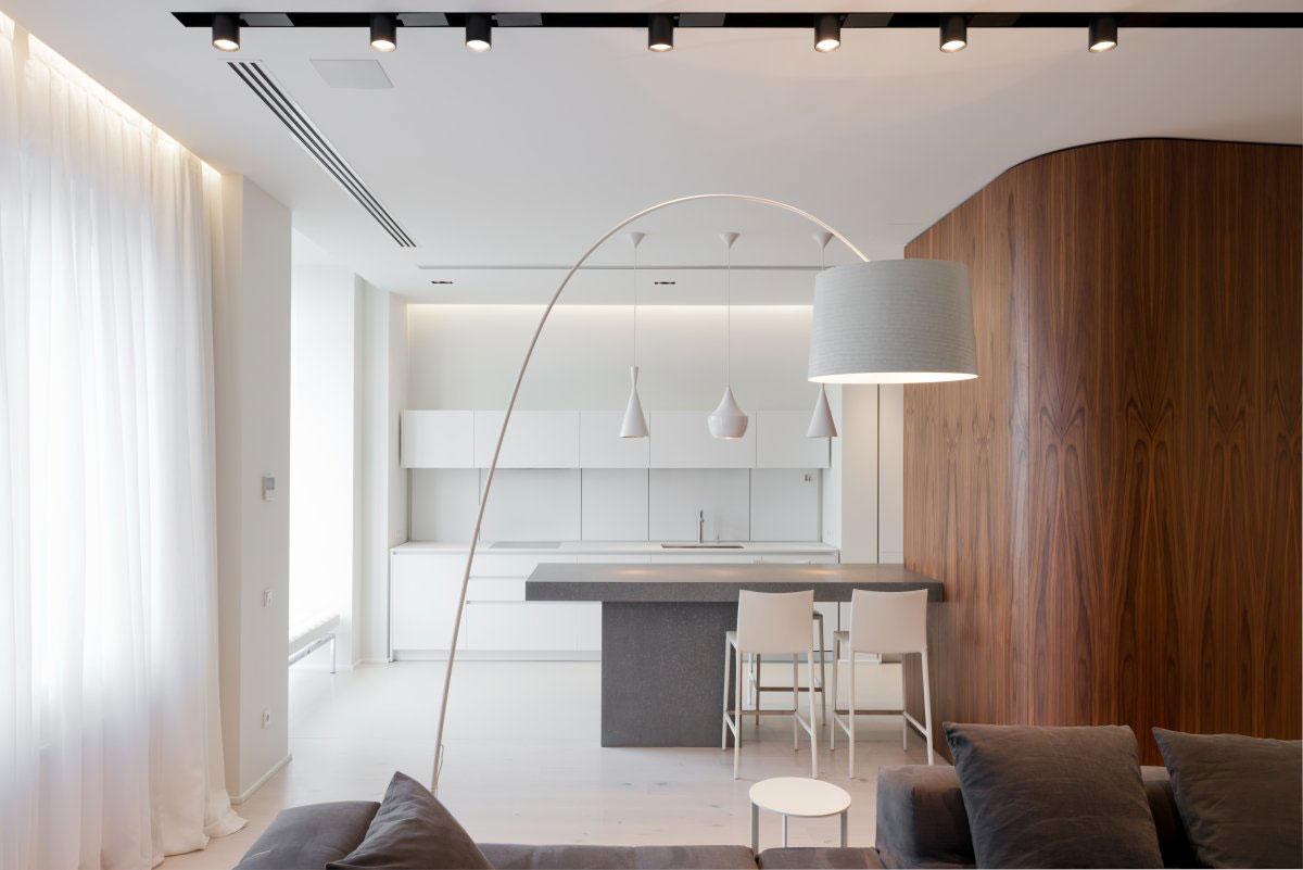 Подвесные светильники для кухни - Фото 44