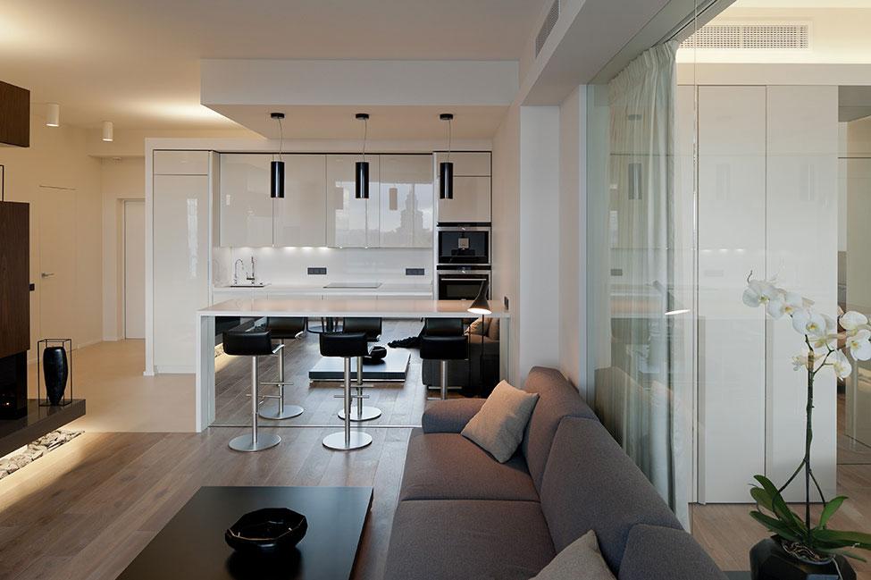 Подвесные светильники для кухни - Фото 45