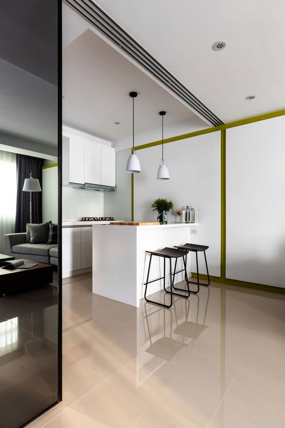 Подвесные светильники для кухни - Фото 49