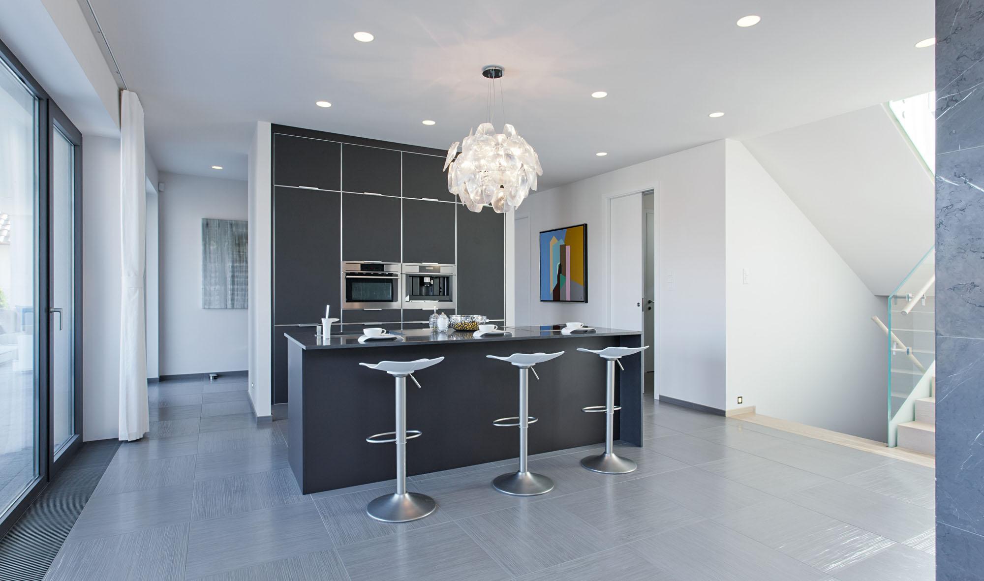 Подвесные светильники для кухни - Фото 51