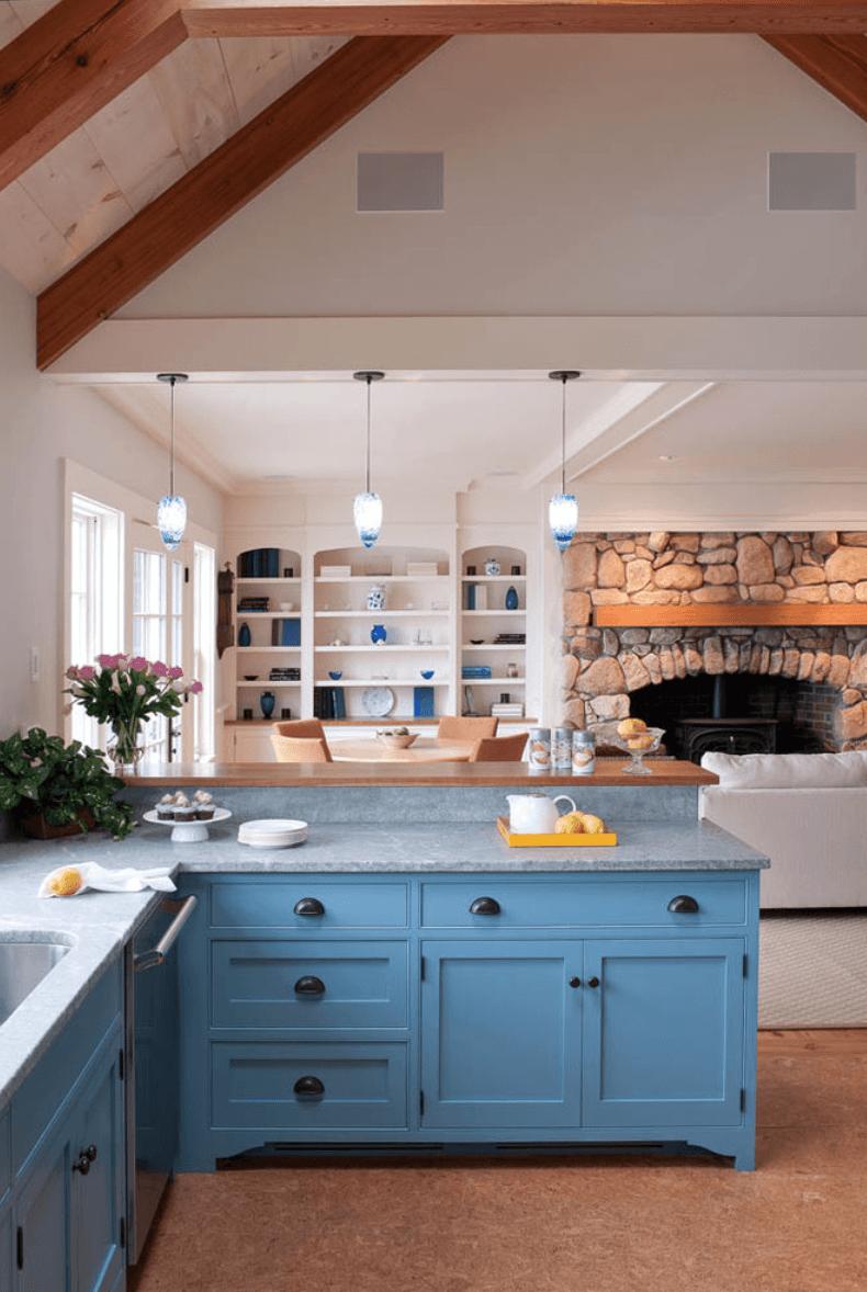 Сельский стиль в интерьере кухни