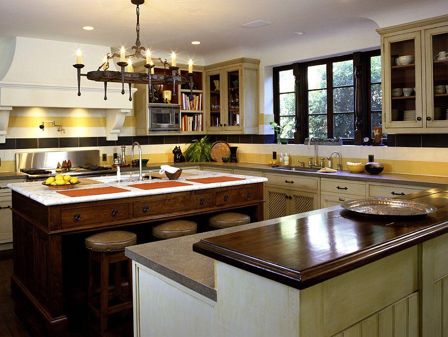 Полоски в интерьере кухни - Фото 6