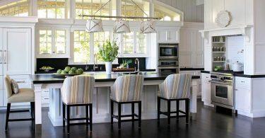 Свежие тенденции: креативные полоски в интерьере вашей кухни