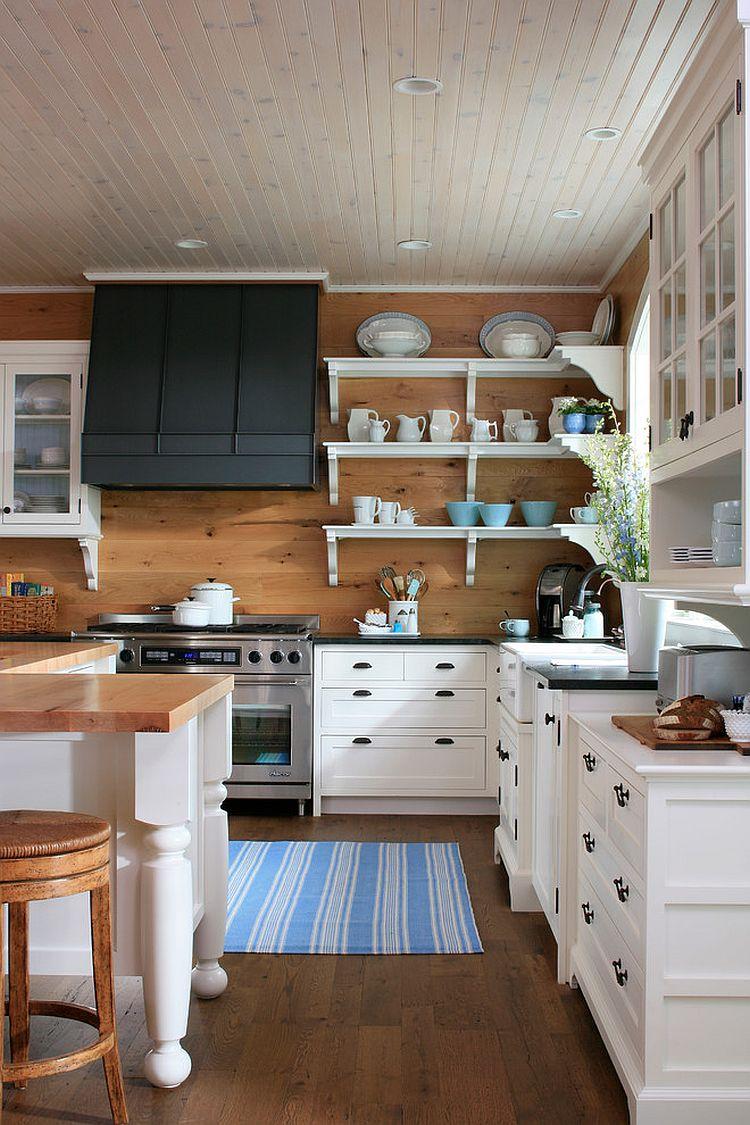 Полоски в интерьере кухни - Фото 15