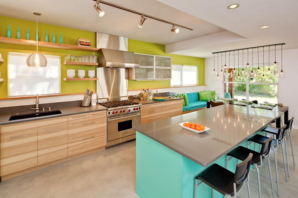Стильный дизайн интерьера кухни от Loop Design