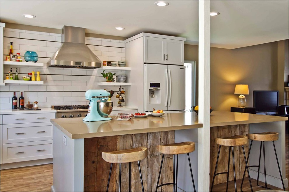 Стильный дизайн интерьера кухни от Jackson Design & Remodeling