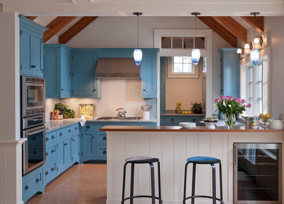 Стильный дизайн интерьера кухни от Elizabeth Swartz Interiors
