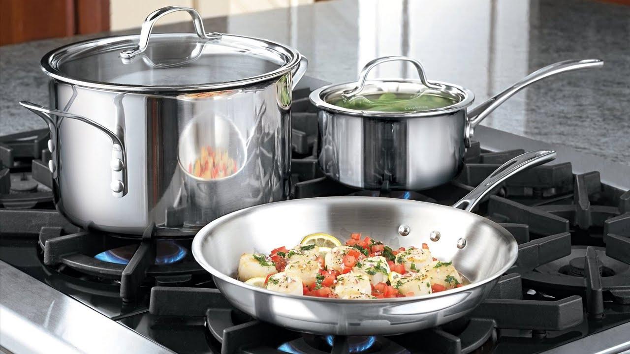 Новый дизайн набора посуды из нержавеющей стали от Calphalon