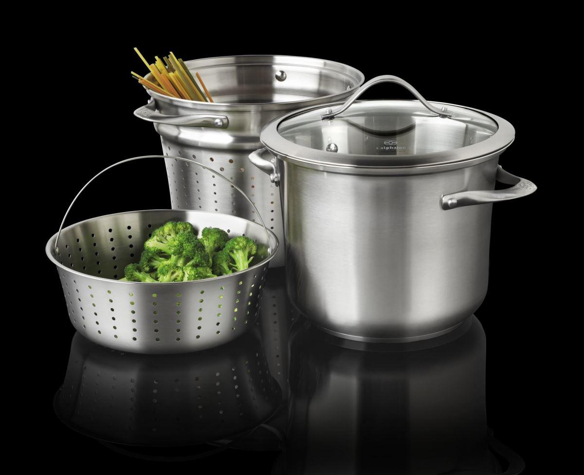 Удобный набор посуды из нержавеющей стали