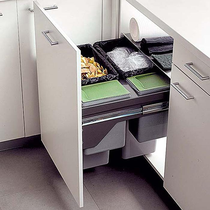 Как максимально полезно задействовать кухонные ящики?.