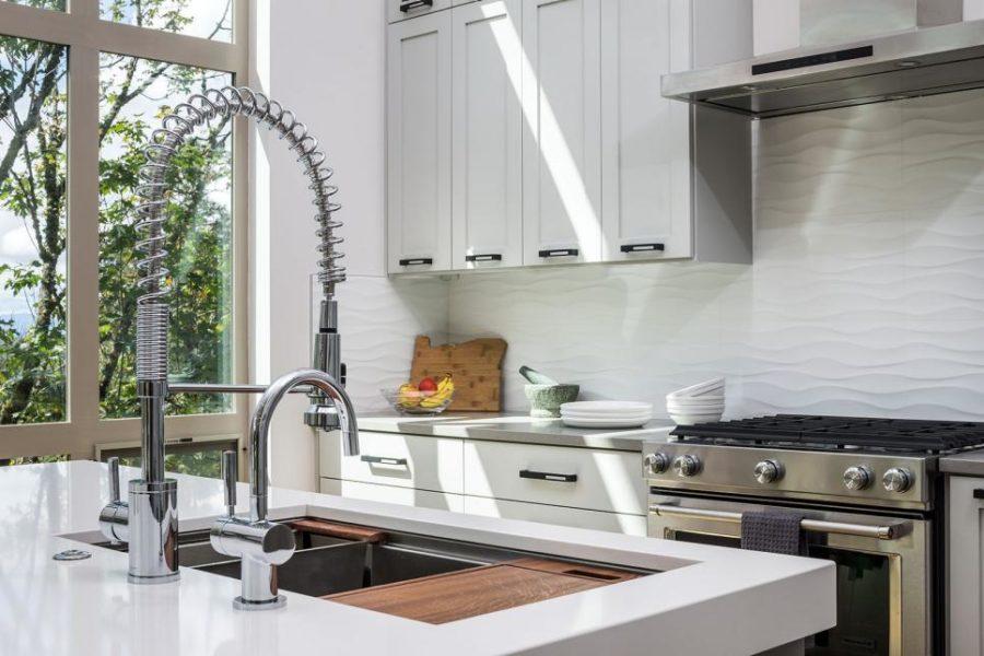 Оригинальный дизайн раковин для кухни - двойная чаша раковины от Jordan Iverson