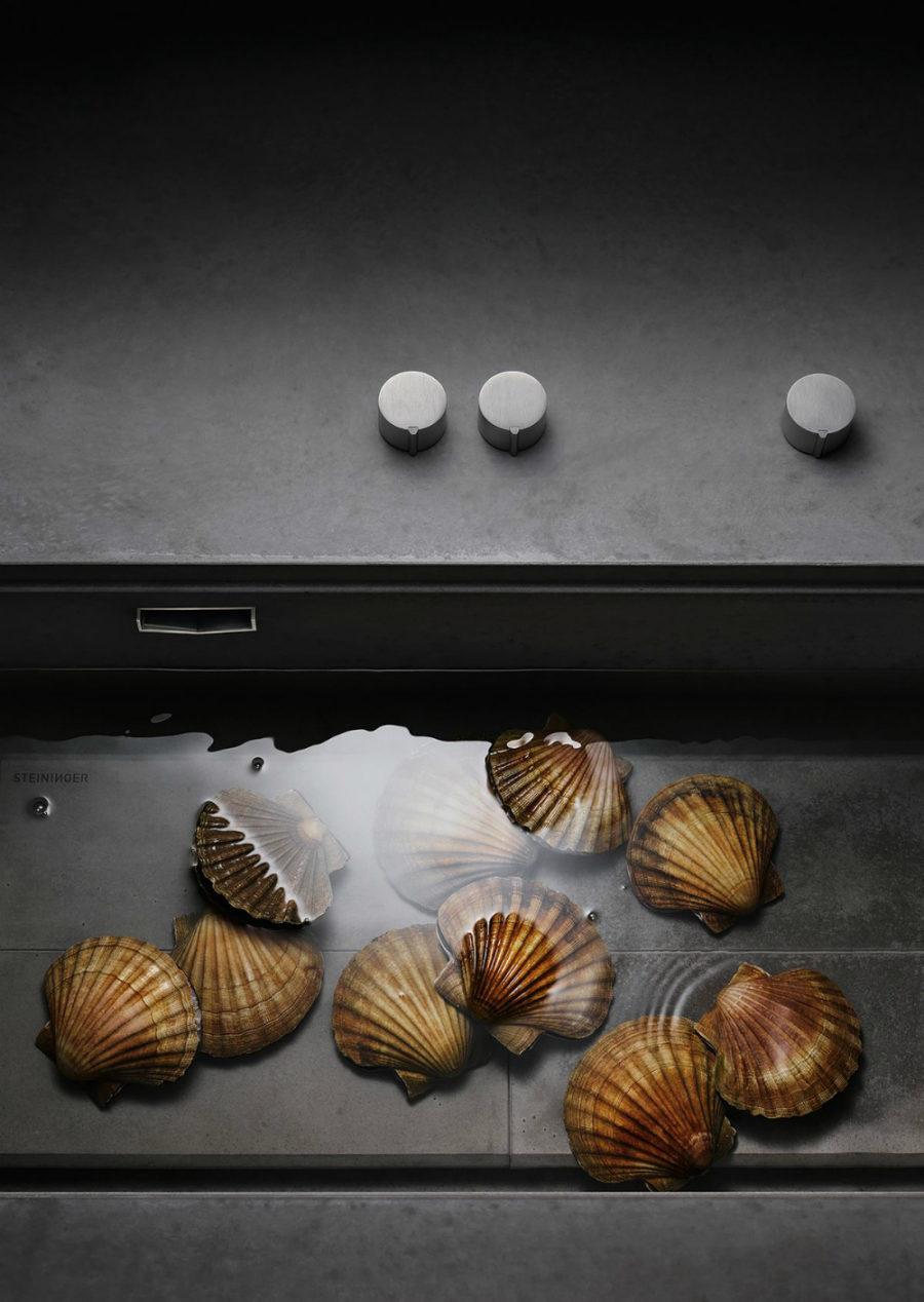 Оригинальный дизайн раковин для кухни - раковина от Steininger