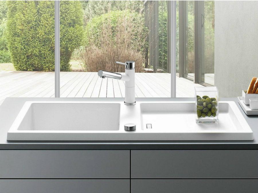 Оригинальный дизайн раковин для кухни - двойная чаша раковины BLANCO ADON