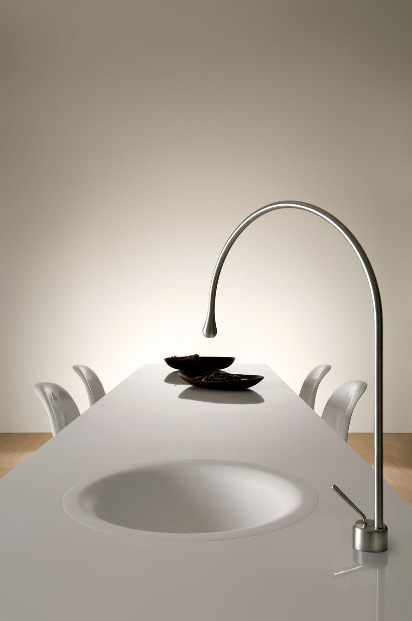 Оригинальный дизайн раковин для кухни - утончённый дизайн
