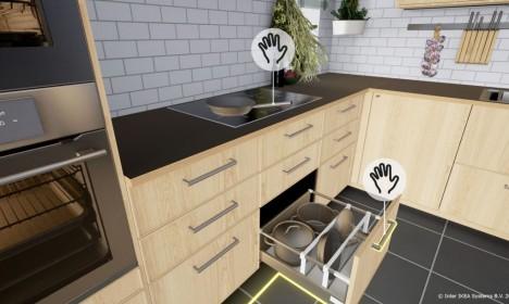 Виртуальная реальность в приложении IKEA VR.