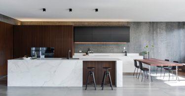 Пример реконструкции кухни от австралийских дизайнеров – вторая жизнь заброшенного дома