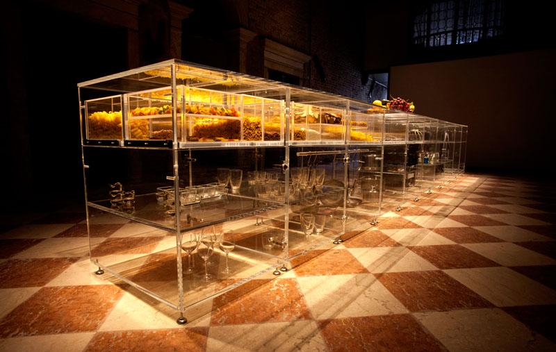 Прозрачные шкафы для кухни: контейнеры для хранения продуктов