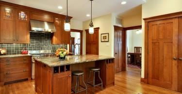 Элегантный дизайн интерьера кухни в классическом стиле от Brooke B. Sammons