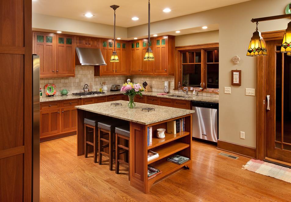 Элегантный дизайн интерьера кухни в классическом стиле от Andrew Melaragno