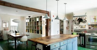 Разделочная доска в интерьере кухни