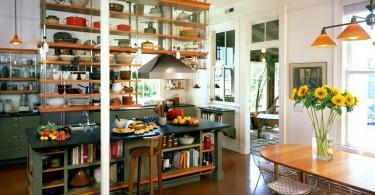 Оригинальный дизайн интерьера кухни от Actual-Size Architecture