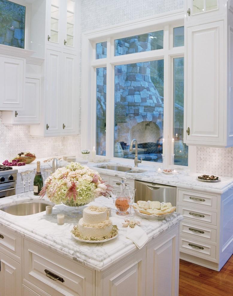 Оригинальное оформление кухонной столешницы от Danenberg Design